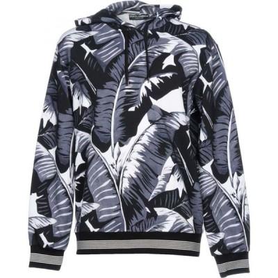 ドルチェ&ガッバーナ DOLCE & GABBANA メンズ スウェット・トレーナー トップス Hooded Sweatshirt Black