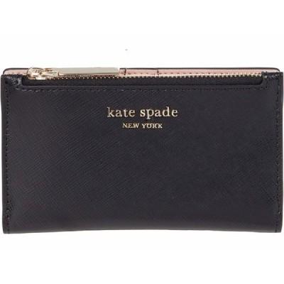 ケイト スペード 財布 アクセサリー レディース Spencer Small Slim Bifold Wallet Black