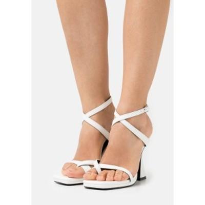 レイド レディース サンダル シューズ JONAS - Sandals - white white