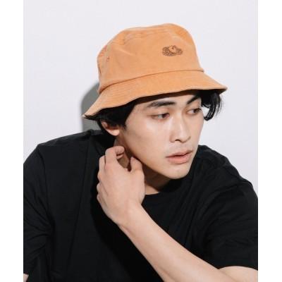 帽子 ハット LOGO PIGMENT BUCKET HAT