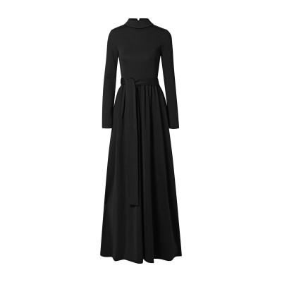 THE ROW ロングワンピース&ドレス ブラック XS レーヨン 88% / ポリウレタン 12% ロングワンピース&ドレス