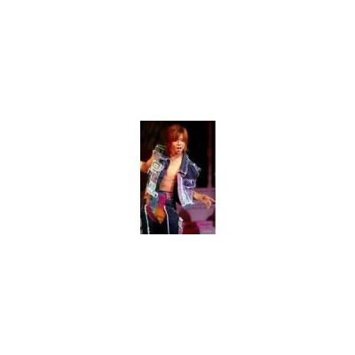 中古生写真(ジャニーズ) Kis-My-Ft2/北山宏光/ライブフォト・膝上・衣装青・デニム・両手上げ・体曲げ・口開け・2Lサ