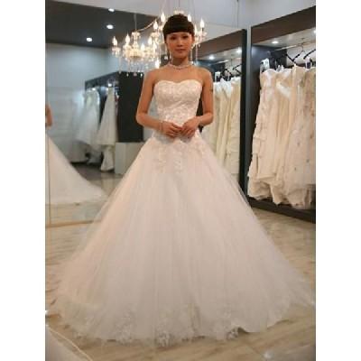 wdk461 人気のウェディングドレスを無料サイズオーダー!
