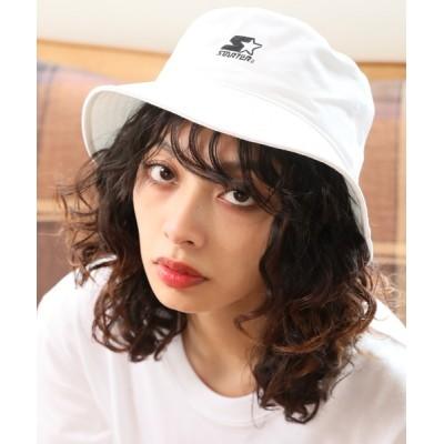 CORPUS TOKYO / 【STARTER/スターター】ロゴ刺繍コットンツイルバケットハット MEN 帽子 > ハット