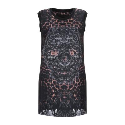 PHILIPP PLEIN ミニワンピース&ドレス スチールグレー S ポリエステル 100% ミニワンピース&ドレス
