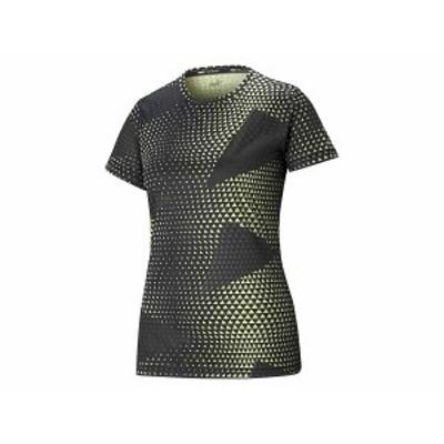 プーマ:【レディース】パフォーマンス AOP SS Tシャツ【PUMA スポーツ フィットネス 半袖 Tシャツ】