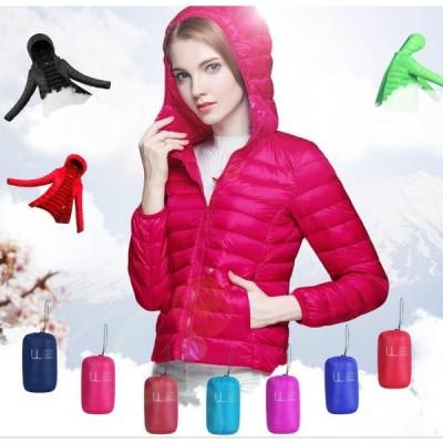 二枚送料無料レディースショートダウンジャケット 防寒アウター 韓国風/ダウンコート12色 軽量 カジュアルアウター/暖かい体型カバー/着痩せ
