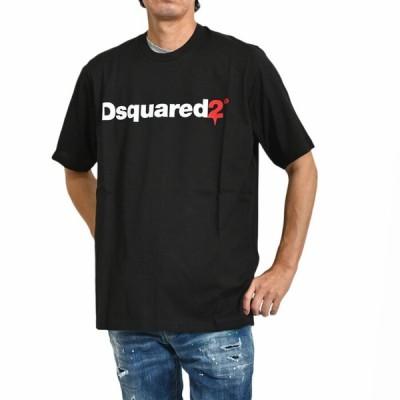 ディースクエアード 半袖 Tシャツ DSQUARED2 S74GD0565 S22427 900 ブラック メンズ