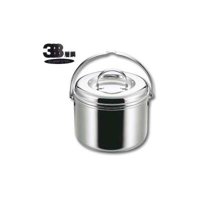 キッチンツール キャプテンスタッグ 3層鋼つる付寸銅鍋17cm