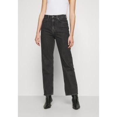 ウィークデイ レディース デニムパンツ ボトムス ROWE - Straight leg jeans - nova black nova black