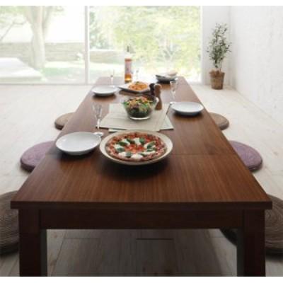 天然木ウォールナット材3段階伸長式こたつテーブル Widen-Wal ワイデンウォール こたつテーブル単品 長方形(80