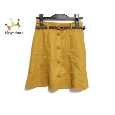 アプワイザーリッシェ Apuweiser-riche スカート サイズ2 M レディース ライトブラウン     スペシャル特価 20200621