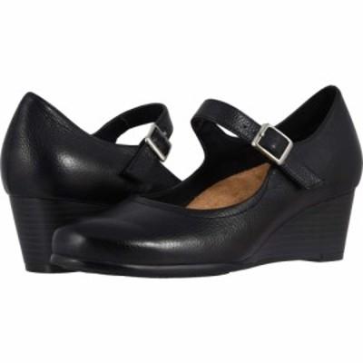 トロッターズ Trotters レディース ヒール シューズ・靴 Willow Black Embossed