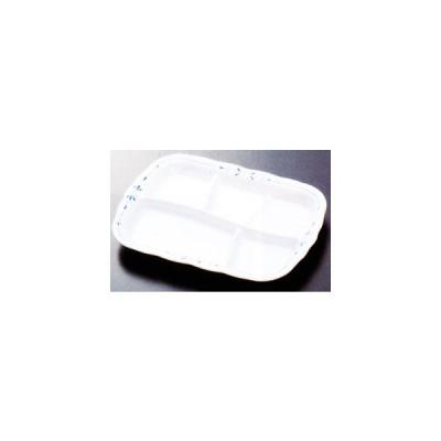 スリーラインメラミン食器 (ユニティ)ランチプレート(ブルーム)313×217×31mm品番:M-301BM
