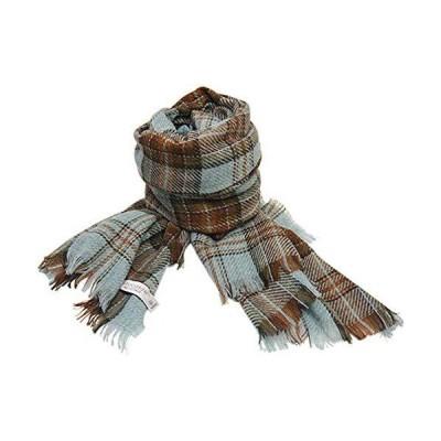 [ロキャロン] Lochcarron of scotland 英国スコットランド製 ストール カシミヤ混 薄手 大判ストール タータンチェック (フェ