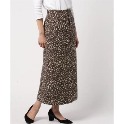 レオパードAラインスカート