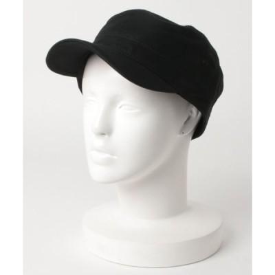 帽子 キャップ 【JABURO】アンチ5コットンツイルワークキャップ