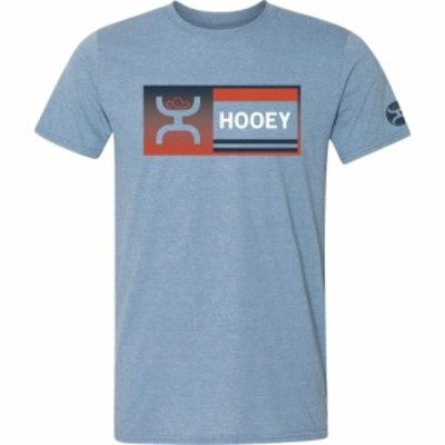 ブローニング Browning メンズ Tシャツ トップス Gradient Block Short Sleeve T-Shirt Heather Indigo