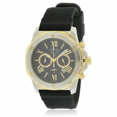 ブローバ 腕時計 Bulova Silicone Chronograph Watch