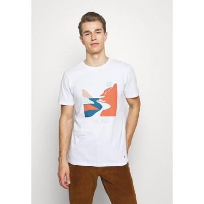 ファグオ Tシャツ メンズ トップス UNISEX - Print T-shirt - weiss