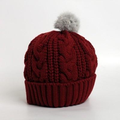 ベレー帽 レディース 帽子 秋冬 冬 ボンボン付きダブルワッチ メンズミリタリー ミリタリーベレー帽 ブラック ネイビー W082