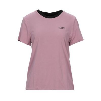 ステューシー STUSSY T シャツ ピンク XS コットン 100% T シャツ
