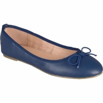 ジュルネ コレクション Journee Collection レディース スリッポン・フラット シューズ・靴 Vika Flat Navy