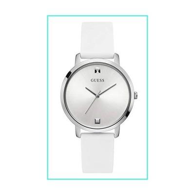 【新品】Guess nova Womens Analog Quartz Watch with Silicone Bracelet W1210L1(並行輸入品)