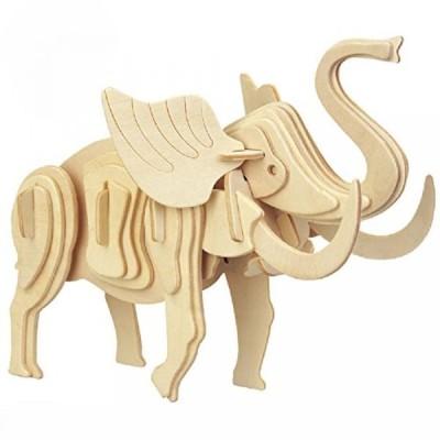 【送料無料】Smilelove 3D Wooden Puzzle--Little Elephant Jigsaw Puzzle 正規輸入品