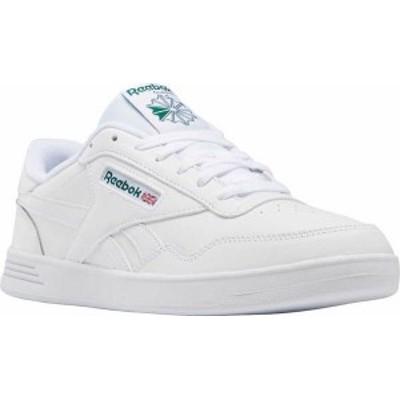 リーボック メンズ スニーカー シューズ Men's Reebok Club MEMT Sneaker White/White/Clover Green