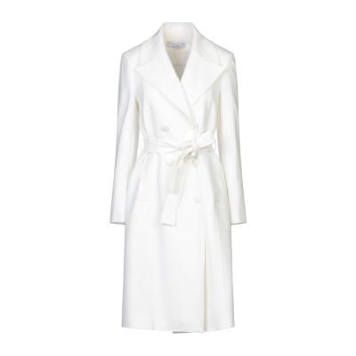 カオス KAOS ライトコート ホワイト 44 ポリエステル 63% / レーヨン 33% / ポリウレタン 4% ライトコート