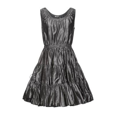 ミュウミュウ MIU MIU ミニワンピース&ドレス 鉛色 38 シルク 100% ミニワンピース&ドレス