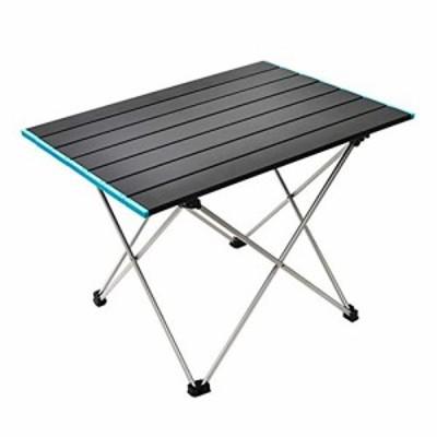 送料無料seiyishi アウトドアテーブル ロールテーブル 折り畳み式テーブル アルミ製 ロール式天板 アウトドアキャンプ コンパクト 軽量