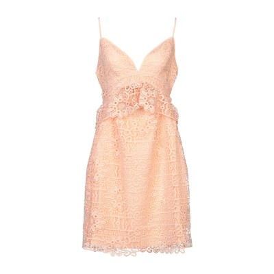 ゲス GUESS ミニワンピース&ドレス あんず色 2 ポリエステル 100% ミニワンピース&ドレス