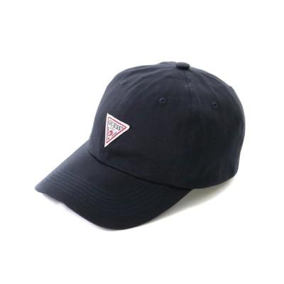 GUESS / Triangle Logo 6Panel Cap (ゲス トライアングルロゴ 6パネルキャップ) MEN 帽子 > キャップ
