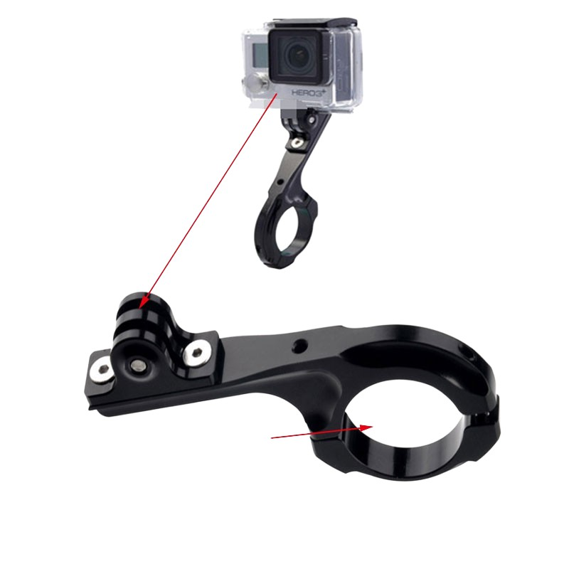 Gopro 運動相機 Q型自行車支架 單車延長固定夾支架