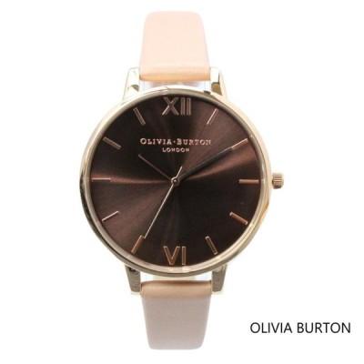 Olivia Burton オリビアバートン レディース ダスティピンク&ローズゴールド 腕時計 本革 レザー ウォッチ クオーツ プレゼント 贈り物 新生活 記念