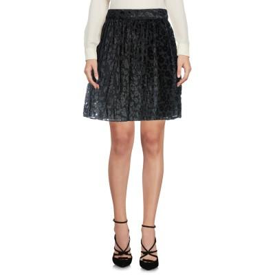 LA KORE ひざ丈スカート ブラック 0 レーヨン 100% ひざ丈スカート