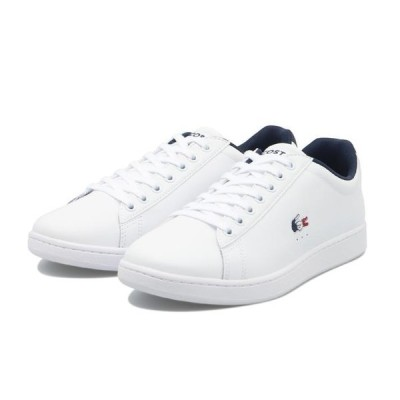 LACOSTE ラコステ CARNABY EVO TRI 1 カーネビー エヴォ SMA033L 407 WHT/NVY/RED