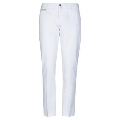 R & BLUES パンツ ホワイト 52 コットン 98% / ポリウレタン 2% パンツ