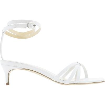 """バイ ファー By Far レディース サンダル・ミュール シューズ・靴 """"Kaia"""" Sandals White"""