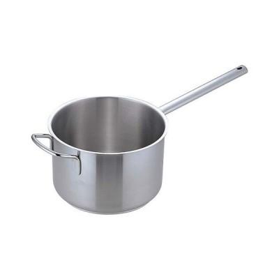ムラノ インダクション18-8片手深型鍋 (蓋無)28cm AKTD105