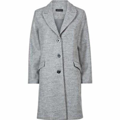 ジュームズ レイクランド James Lakeland レディース コート アウター 3 Button Coat Grey