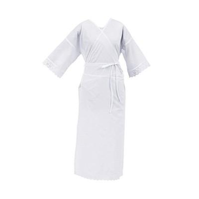 [オオキニ] 着物スリップ 衿抜き 深い襟ぐり 和装スリップ 礼装用 浴衣用 ワンピース肌着 Lサイズ