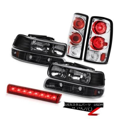 ヘッドライト 左右前照灯パーキングランプ高貨物LED 00 01 02 03 04 05 06タホ4.8L Left Right Headlamps