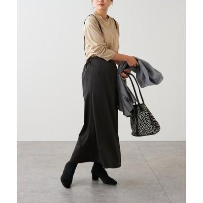 スカート 【ZOZO限定】肩ひもサテンスカート