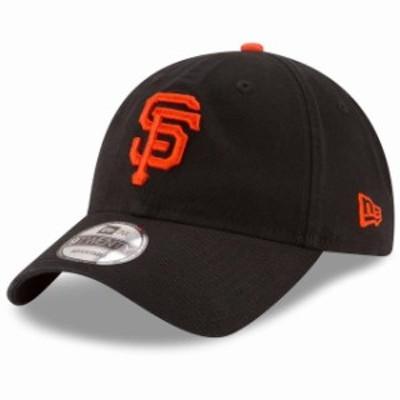 New Era ニュー エラ スポーツ用品  New Era San Francisco Giants Youth Black Core Classic Replica 9TWENTY Adjustable Ha