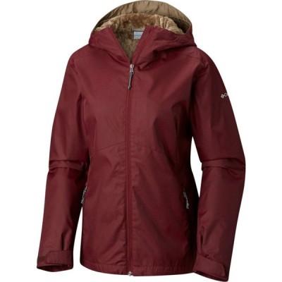 コロンビア Columbia レディース レインコート アウター rainie falls jacket Rich Wine