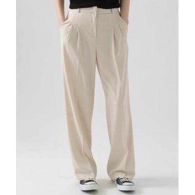 ALAND / 3.3Field Trip/2TUCK STRETCH パンツ 2951433 WOMEN パンツ > スラックス