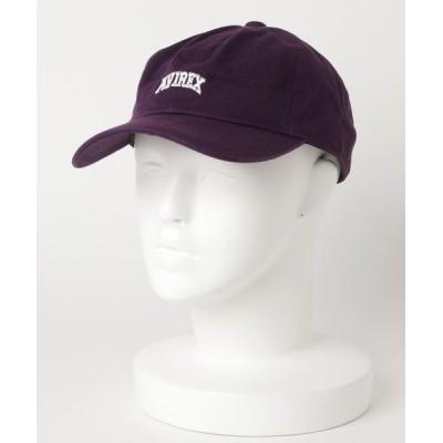 LB/S / 【AVIREX/アヴィレックス】ブランドロゴ刺繍ローCAP MEN 帽子 > キャップ